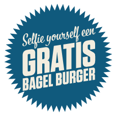 GRATIS BAGEL BURGER